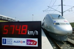 FRANCE-TRANSPORT-RAIL-RECORD